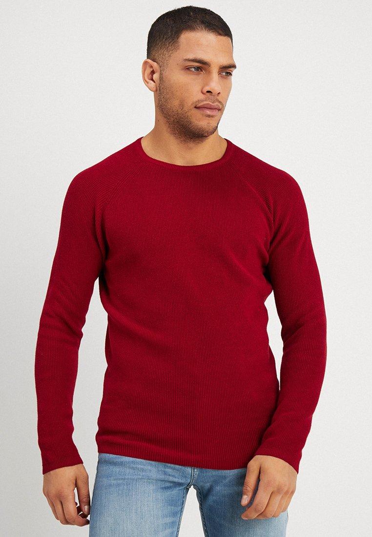 Springfield - HALF - Strickpullover - red