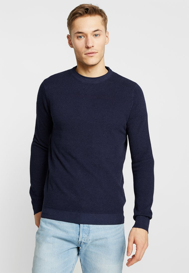 Springfield - ESTRUCT WASHED LOOK - Strickpullover - blues