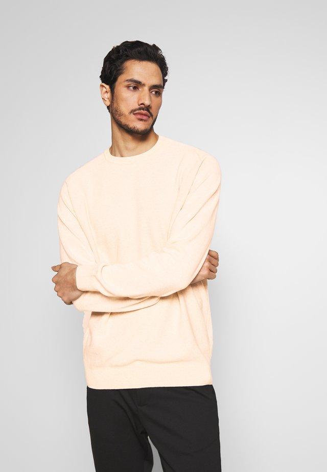 3D STRUCTUR - Pullover - beige