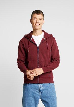 BASICA CAPUCHA ABIERTA - Zip-up hoodie - reds