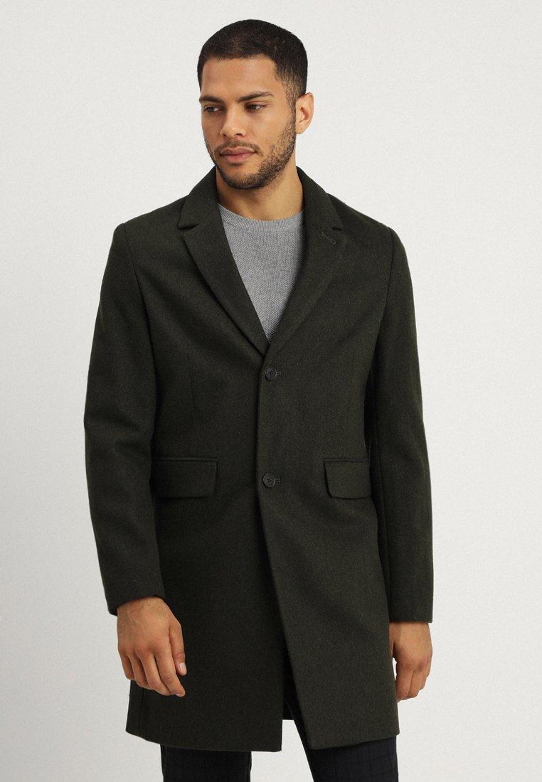 Springfield - CLOTH CASUAL JACKET - Classic coat - greens