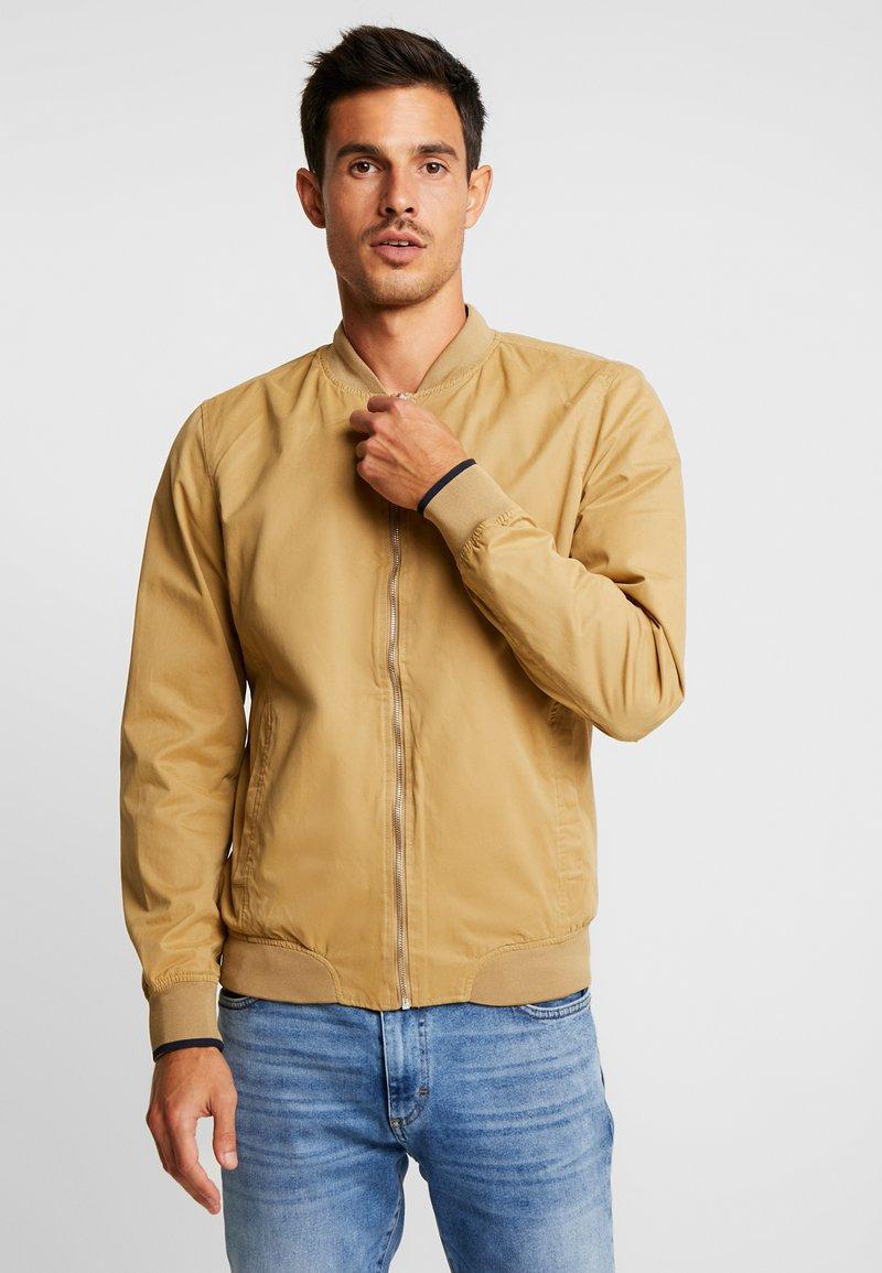 Springfield - Bomber Jacket - beige/camel