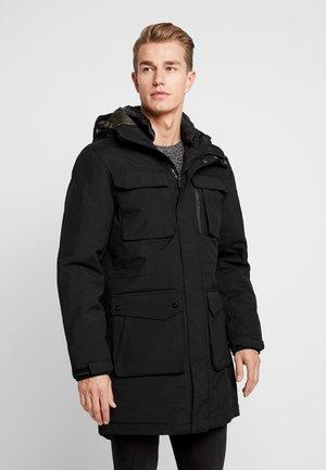 PLUMAS  - Winter coat - black