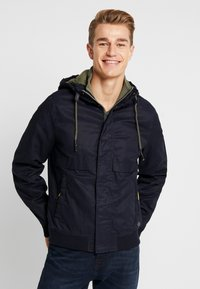 Springfield - YOUNG CLASSIC HOOD - Summer jacket - blue - 0