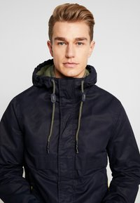 Springfield - YOUNG CLASSIC HOOD - Summer jacket - blue - 3