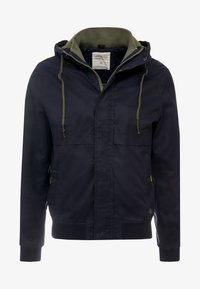 Springfield - YOUNG CLASSIC HOOD - Summer jacket - blue - 4