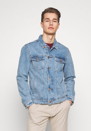 JACKET - Kurtka jeansowa - blue