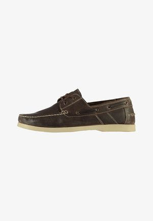 CARAVEL  - Chaussures bateau - brown