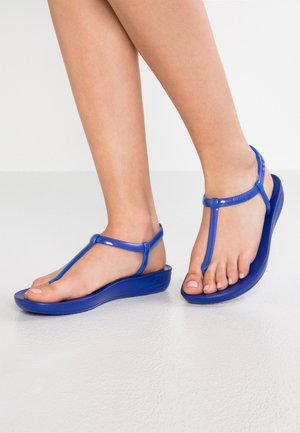 IQUSHION SPLASH - PEARLISED - Chanclas de dedo - illusion blue