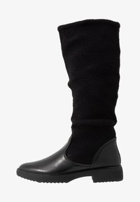 FitFlop - NISSE MIXTE KNEE HIGH BOOTS - Boots - black - 1