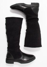 FitFlop - NISSE MIXTE KNEE HIGH BOOTS - Boots - black - 3