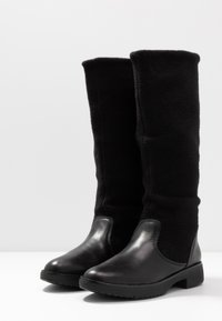 FitFlop - NISSE MIXTE KNEE HIGH BOOTS - Boots - black - 4