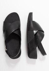 FitFlop - LULU CROSS BACK-STRAP - Sandály na platformě - black - 3