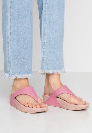 LULU TOEPOST - Sandalias de dedo - shrimp pink