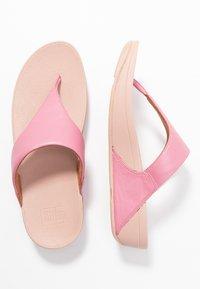 FitFlop - LULU TOEPOST - Sandalias de dedo - shrimp pink - 3