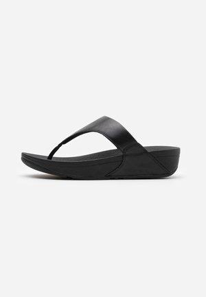 LULU - Sandály s odděleným palcem - black