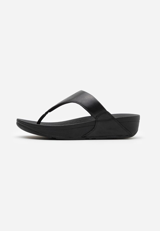LULU - T-bar sandals - black