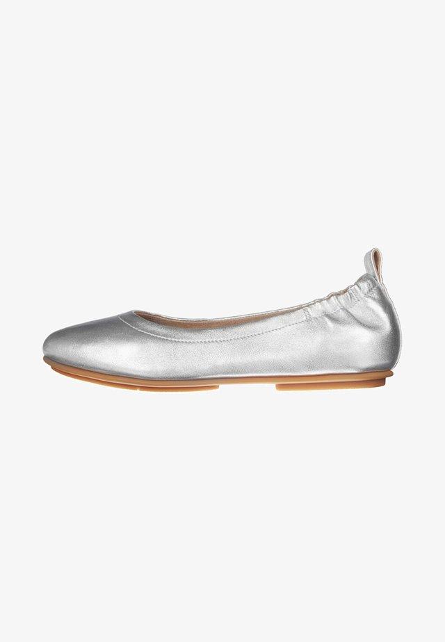 ALLEGRO - Ballerines - silver