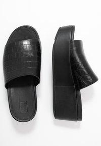 FitFlop - ELOISE - Pantofle na podpatku - black - 3