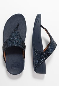 FitFlop - LULU - T-bar sandals - midnight navy - 3