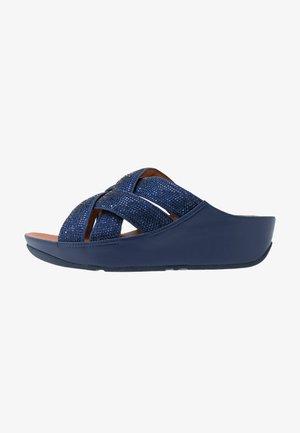LATTICE - Pantolette flach - arora blue