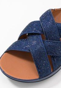 FitFlop - LATTICE - Mules - arora blue - 2