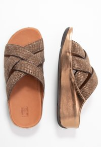 FitFlop - LATTICE - Mules - bronze - 3