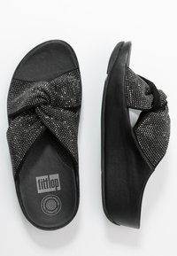 FitFlop - TWISS - Pantofle - black - 3