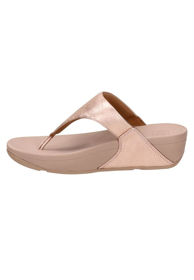 Pantoffels - rose goud