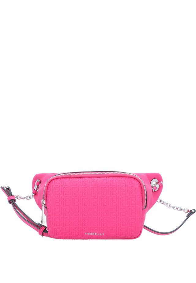 Bum bag - fuschia emboss