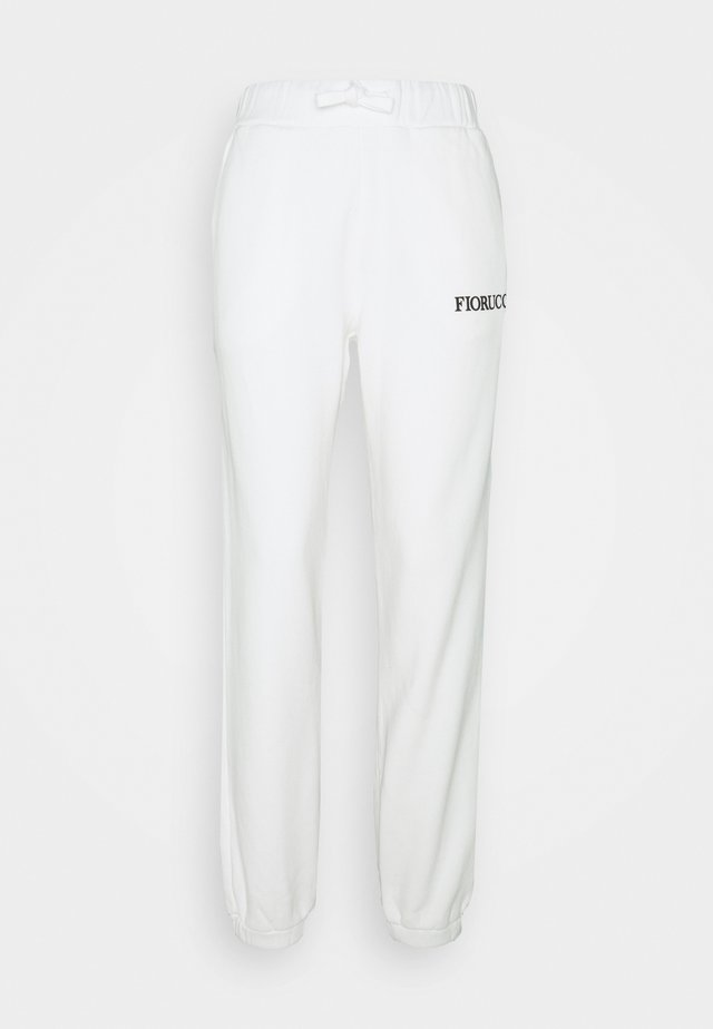 ANGELS PATCH JOGGER  - Tracksuit bottoms - white