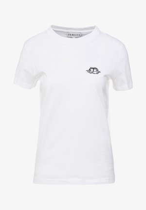ICON  ANGELS - Jednoduché triko - white