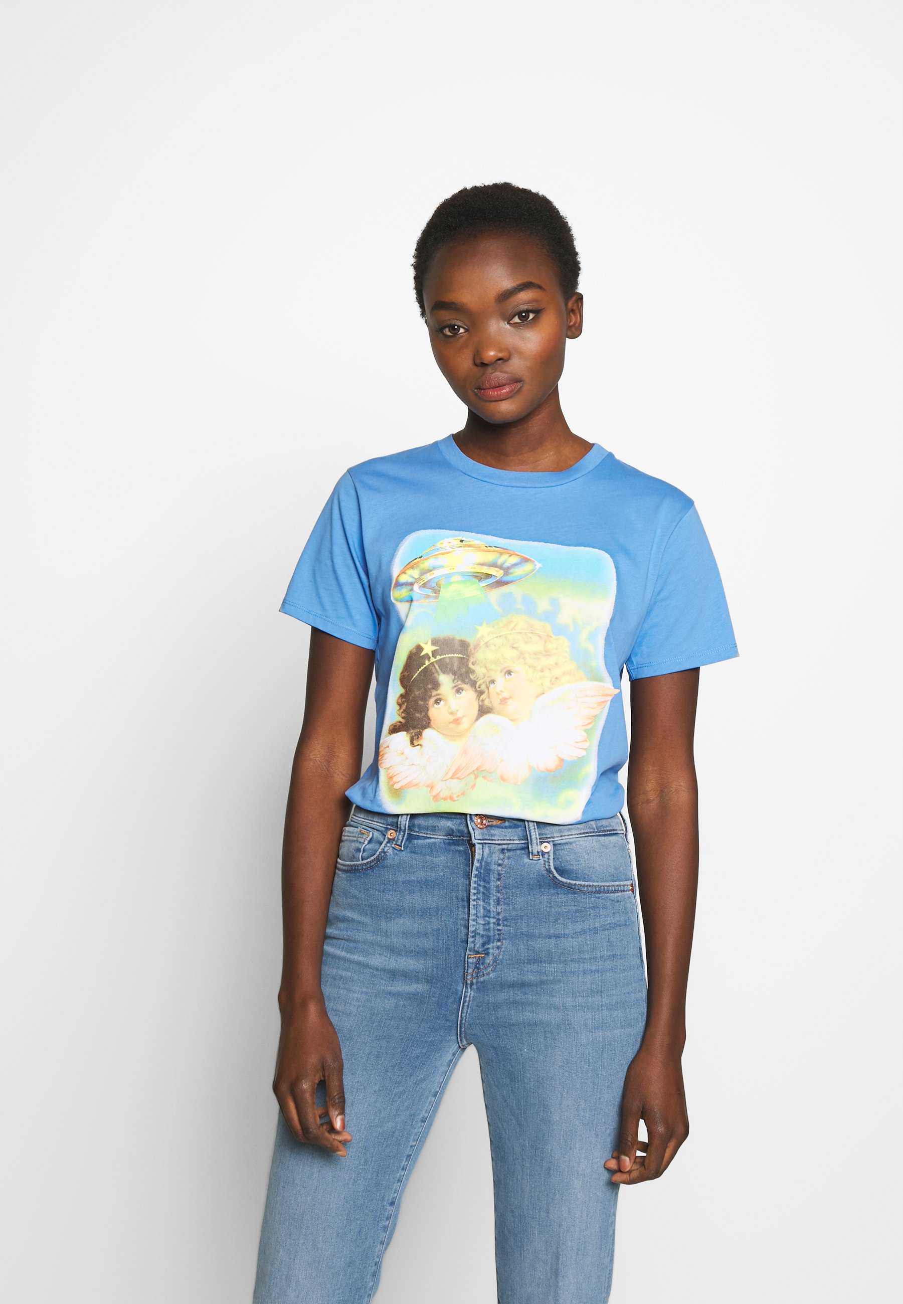 Fiorucci ANGELS UFO - T-shirts med print - pale blue