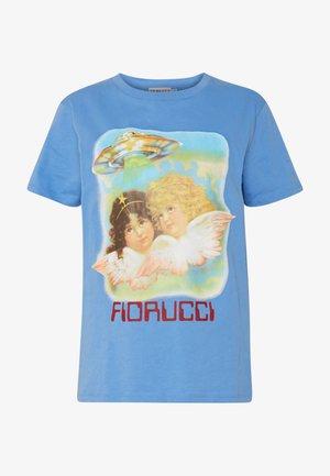ANGELS UFO - T-shirt imprimé - pale blue
