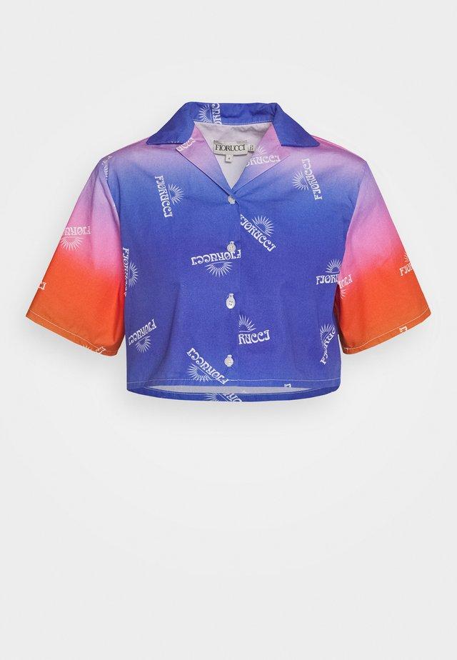 RAINBOW CROP BOWLING - Skjortebluser - multi