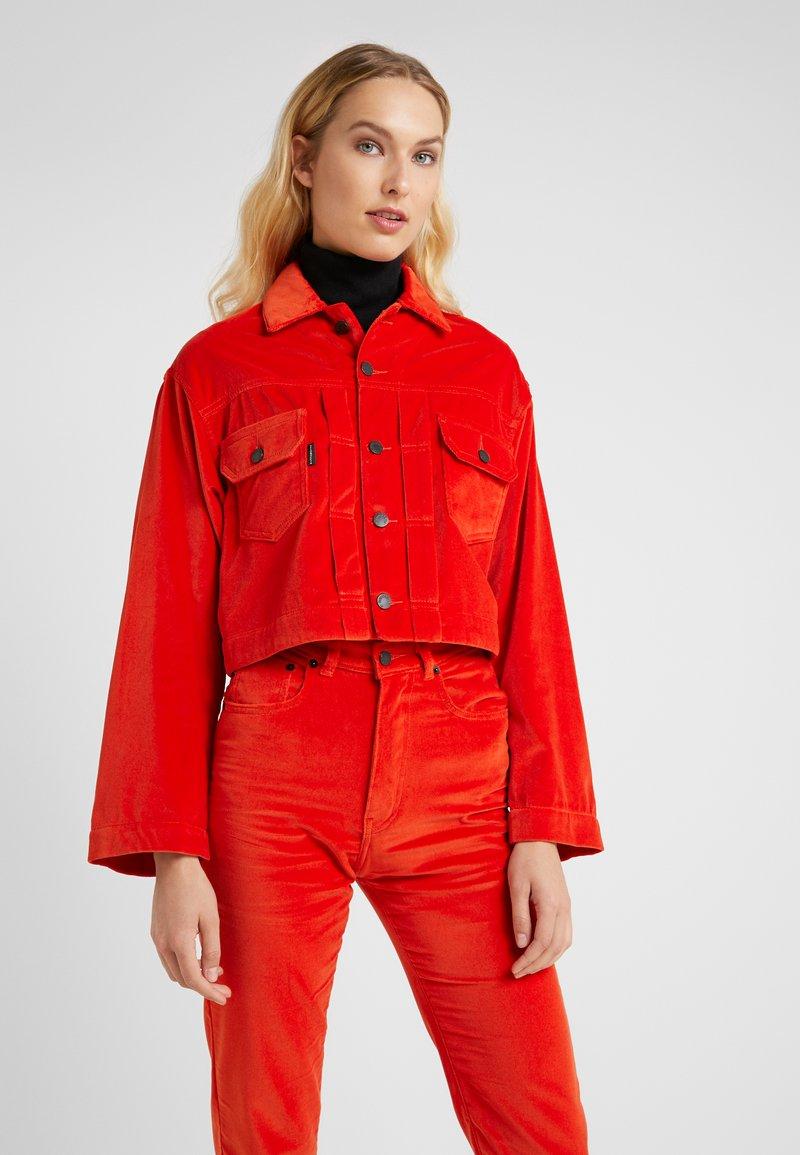 Fiorucci - BERTY JACKET - Summer jacket - tangerine