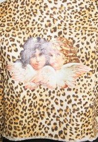Fiorucci - BERTY JACKET LEOPARD - Džínová bunda - beige - 6