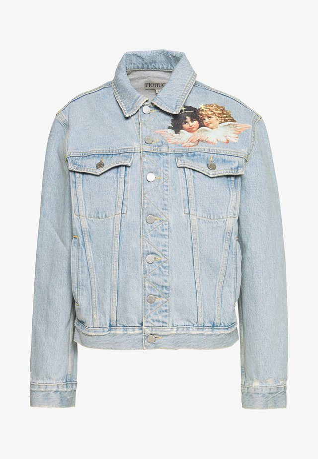 NICO PATCH - Denim jacket - light vintage