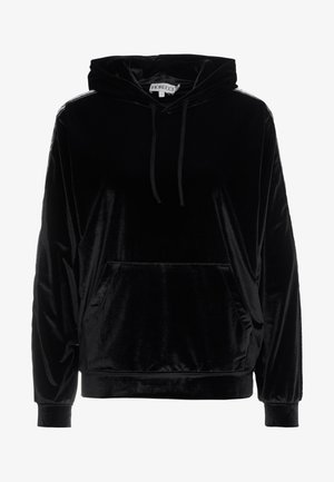 TAPE LOGO HOODIE - Sweat à capuche - black