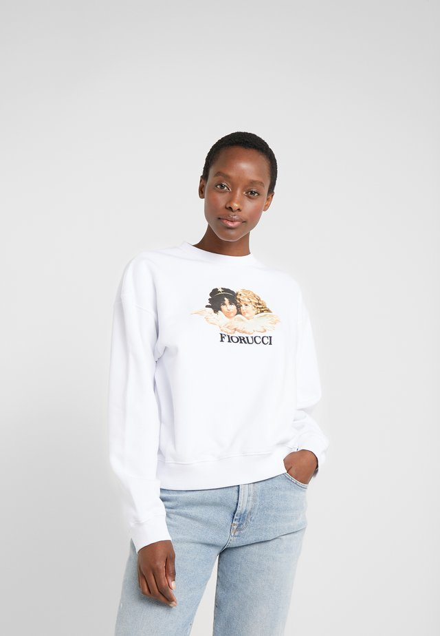 VINTAGE ANGELS - Sweatshirts - white