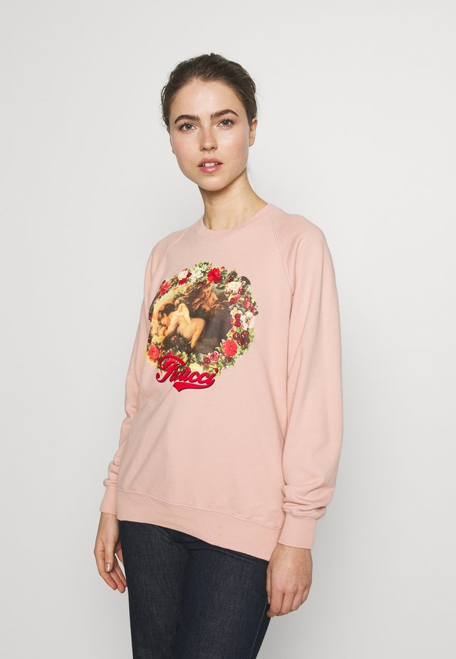 SLEEPY CHERUB - Sweatshirt - pink