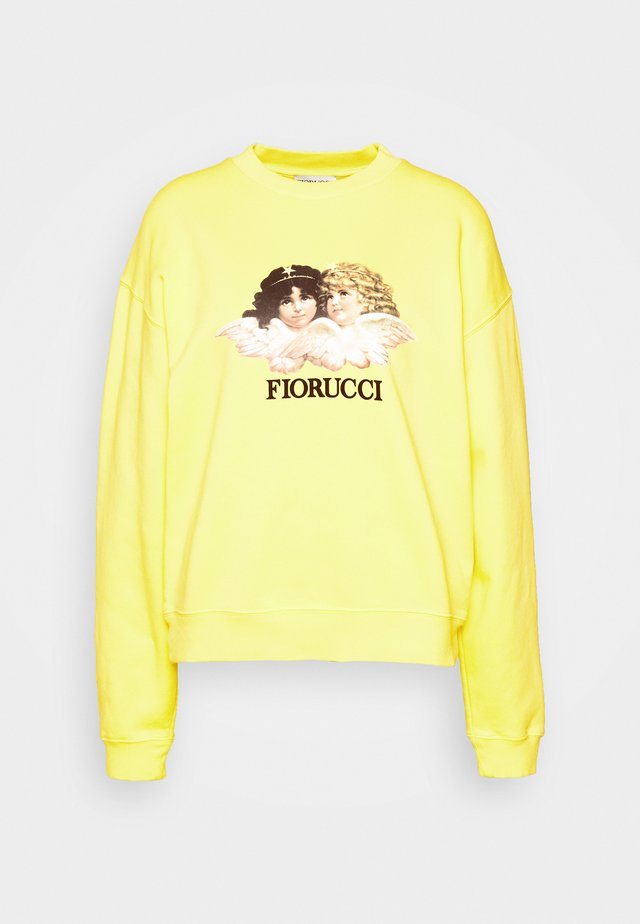 VINTAGE ANGELS - Sweatshirts - yellow
