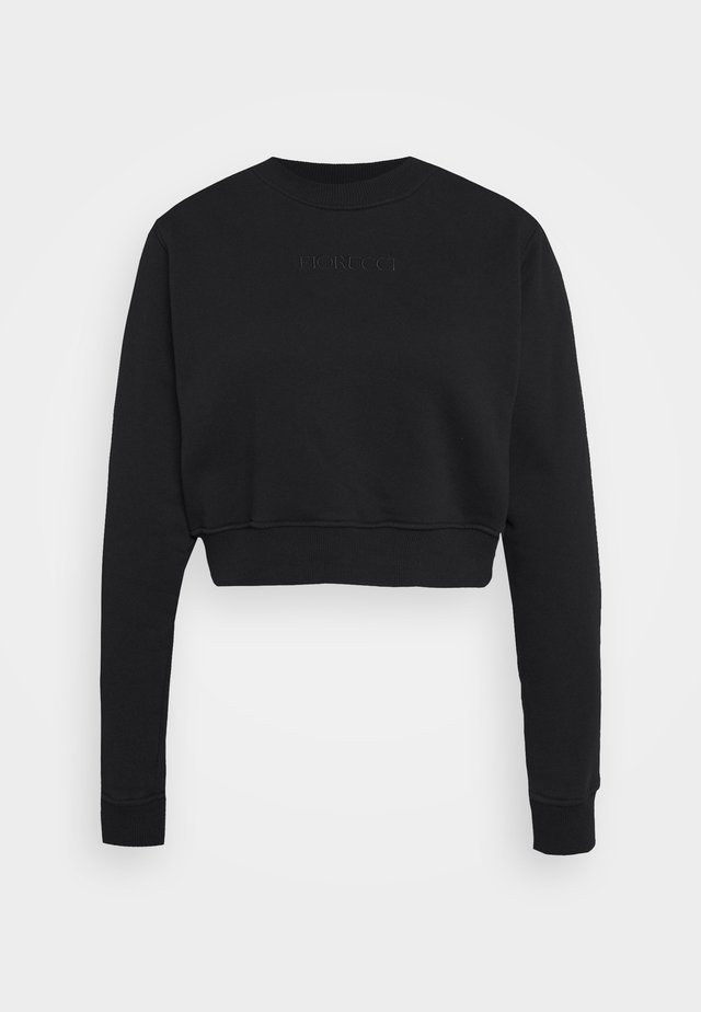 NEW ANGELS CROP - Sweatshirts - black