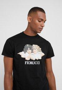 Fiorucci - VINTAGE ANGELS - T-shirt imprimé - black - 4