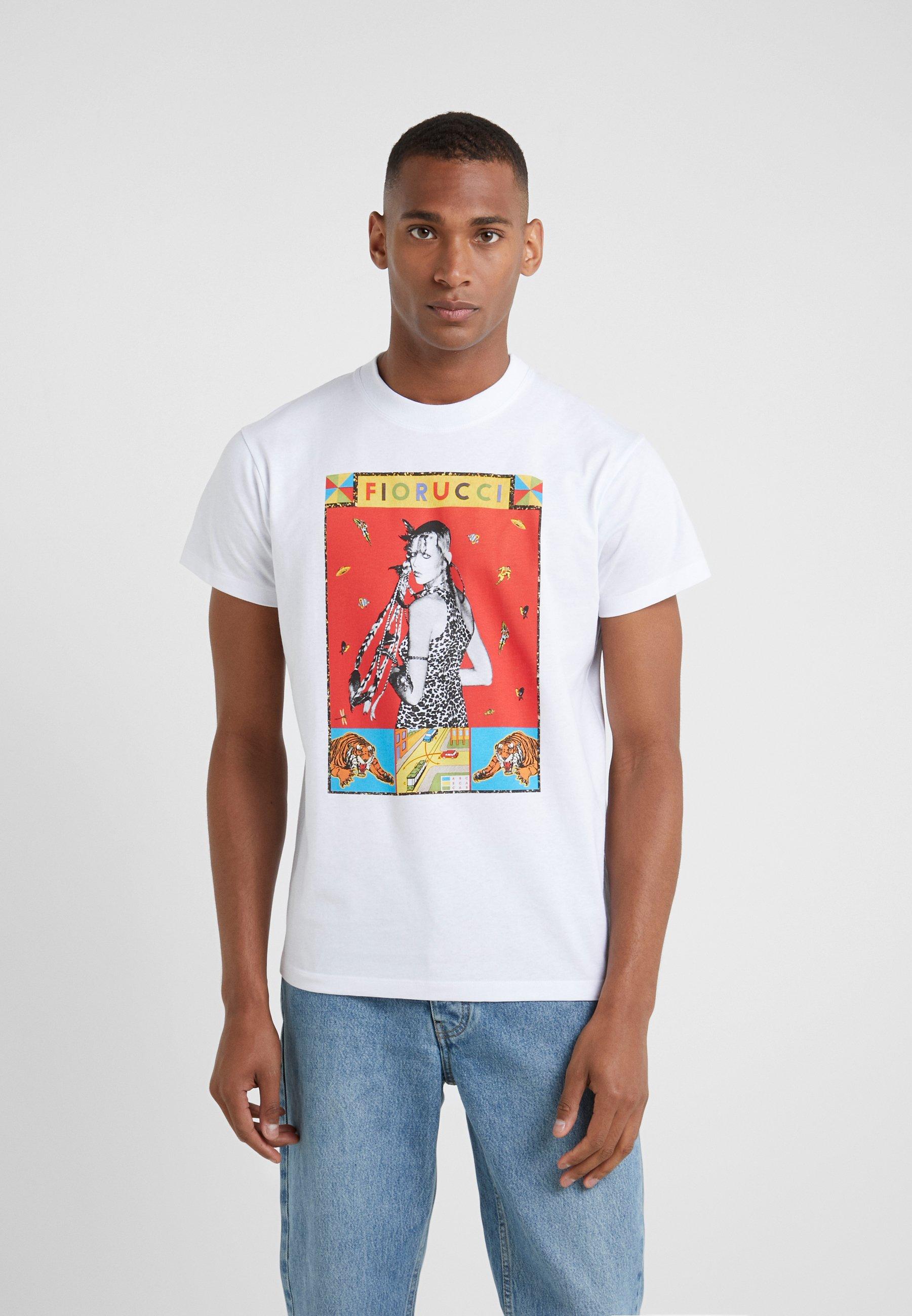 shirt TeeT Imprimé White Twiggy Fiorucci 0vO8wnmN