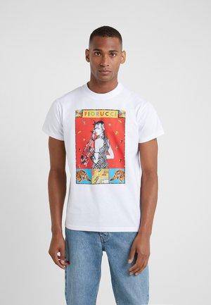 TWIGGY TEE - T-shirt imprimé - white