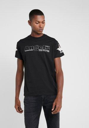 NEW YORK ANGELS TEE - T-shirt imprimé - black