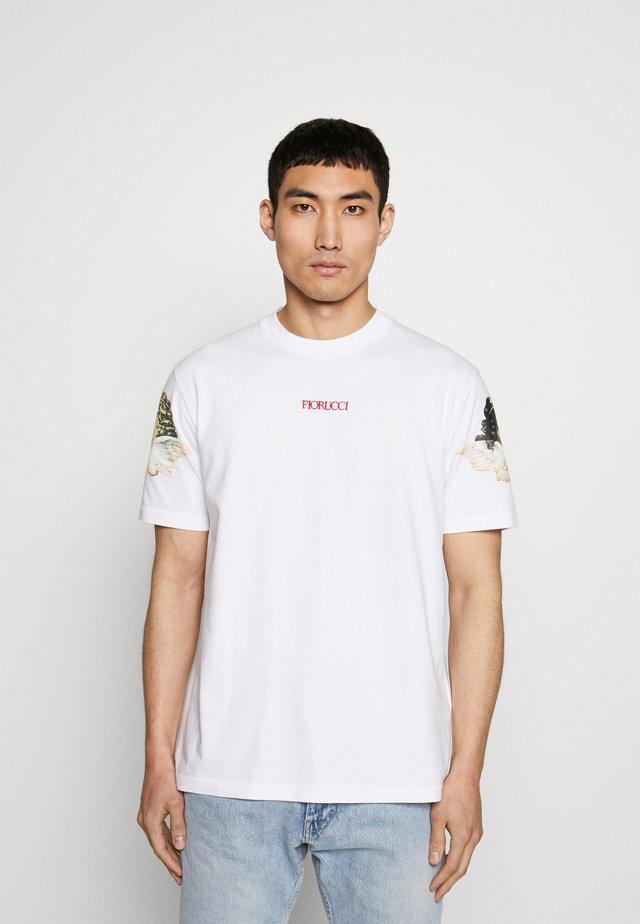 ANGELS WINGS TEE - T-shirt print - white