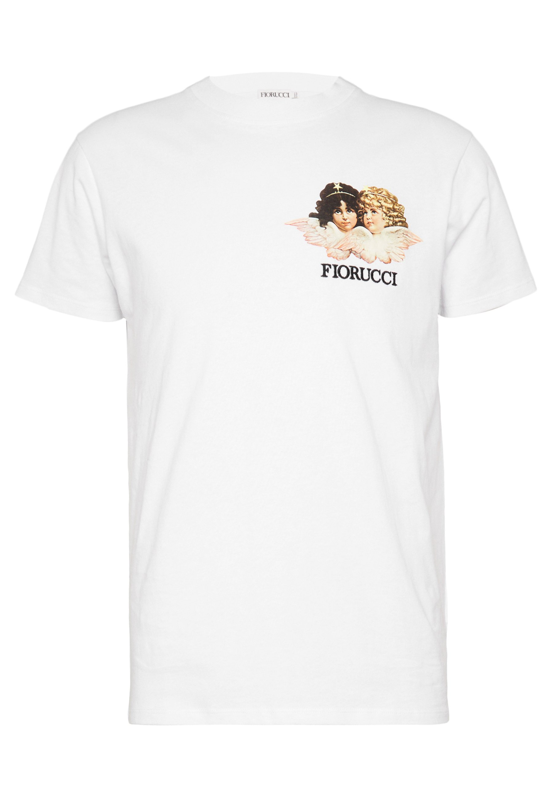 Fiorucci NEW ANGELS TEE - T-shirt imprimé - white