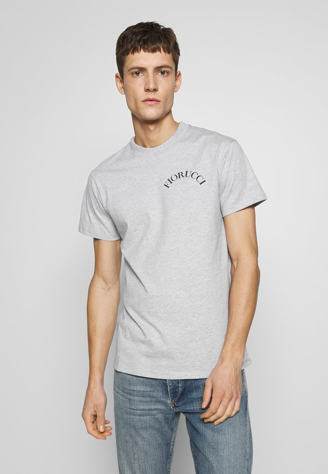 T-shirts basic - mottled grey